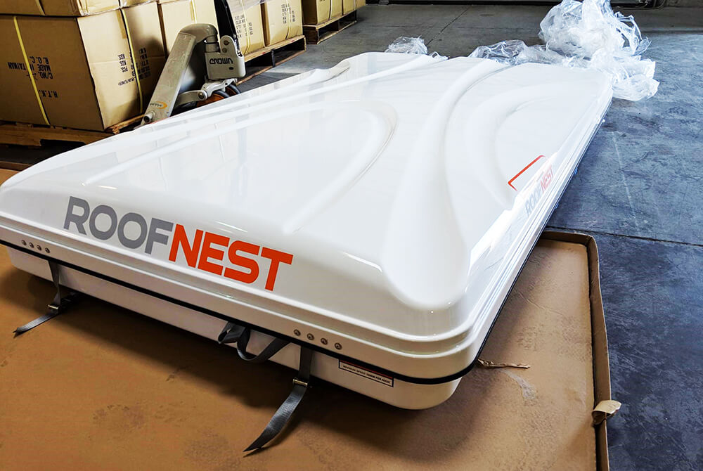 Roof Nest Sparrow Roof Top Tent - Unboxing