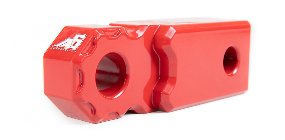 Agency 6™ Shackle Block (Single Side/Top Hole):