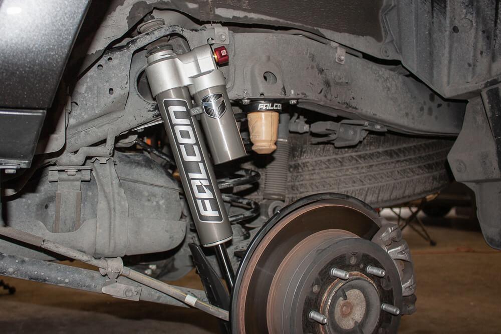 Falcon Shocks Tow/Haul Suspension 5th Gen Toyota 4Runner Install