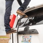 Overland Equipped Ladder Steps on 4Runner