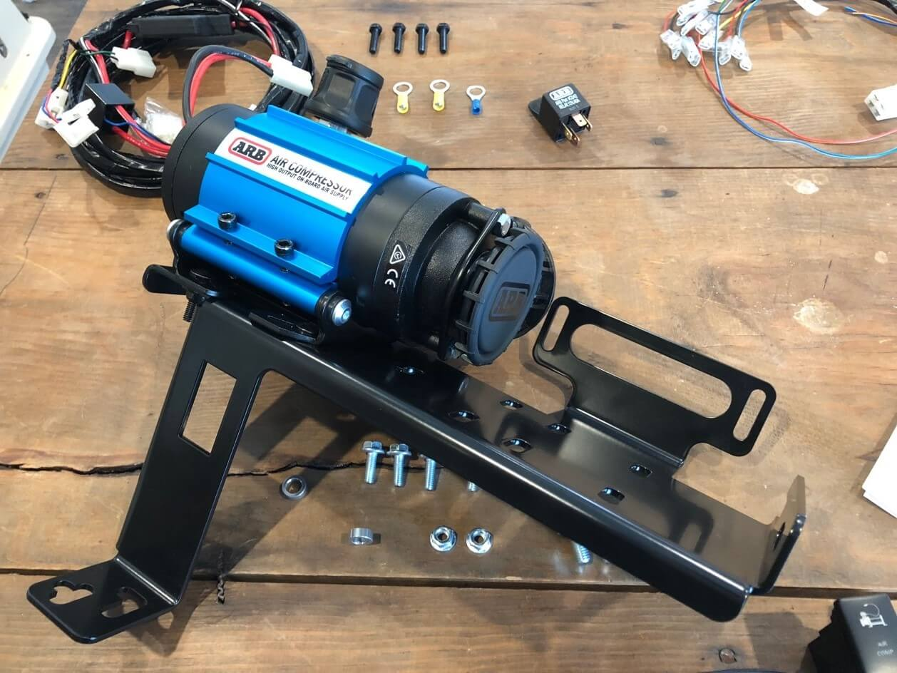 Installing the Slee Off-Road Mount