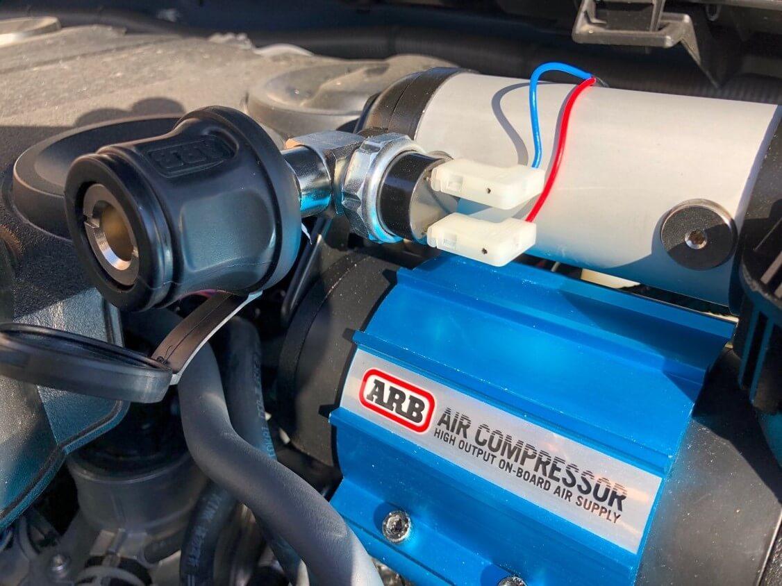 single arb compressor slee bracket 5th gen 4runner