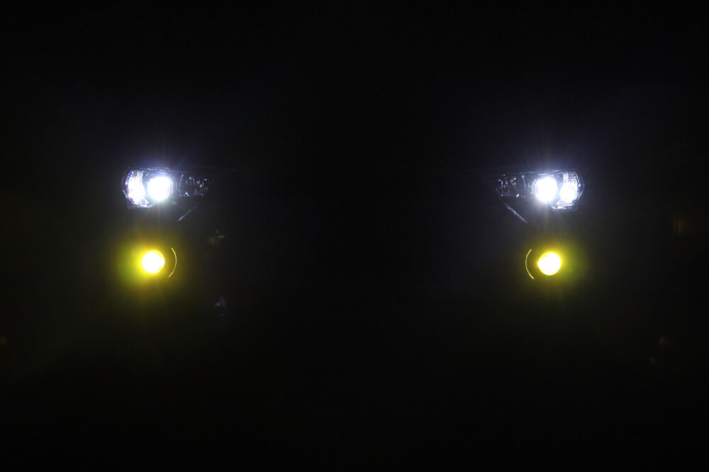 Diode Dynamics Fog Lights - Yellow Close Up