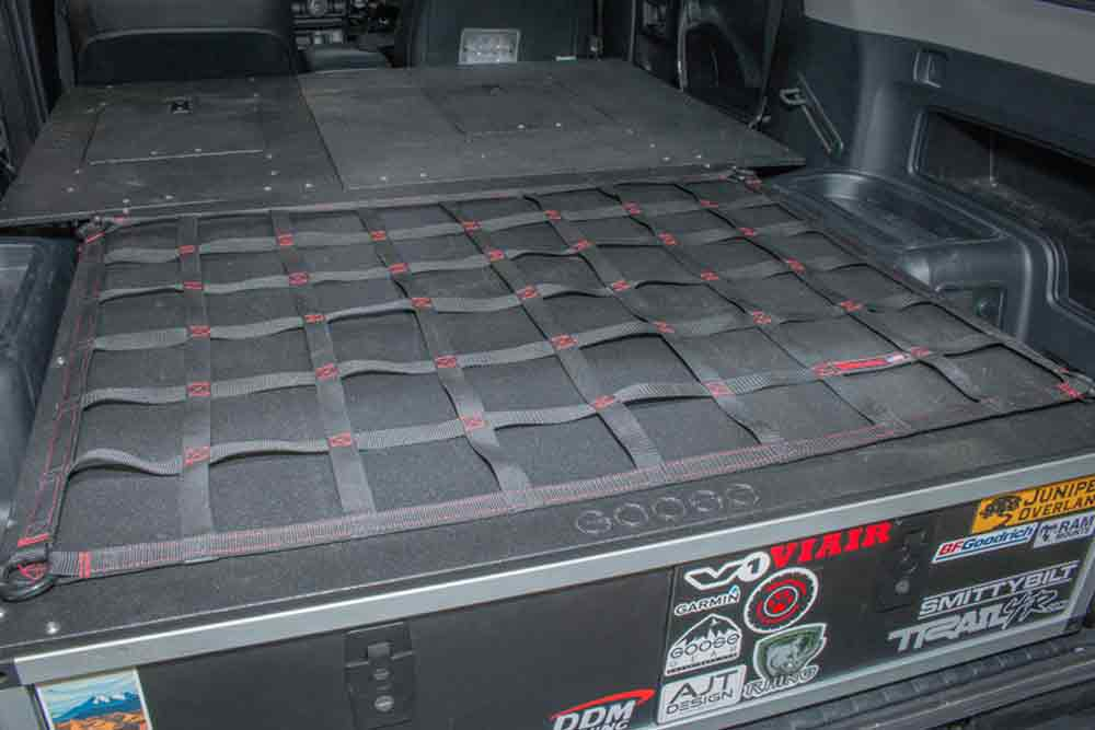 Goose Gear Drawers + Sleeping Platform Install And Review Step 1