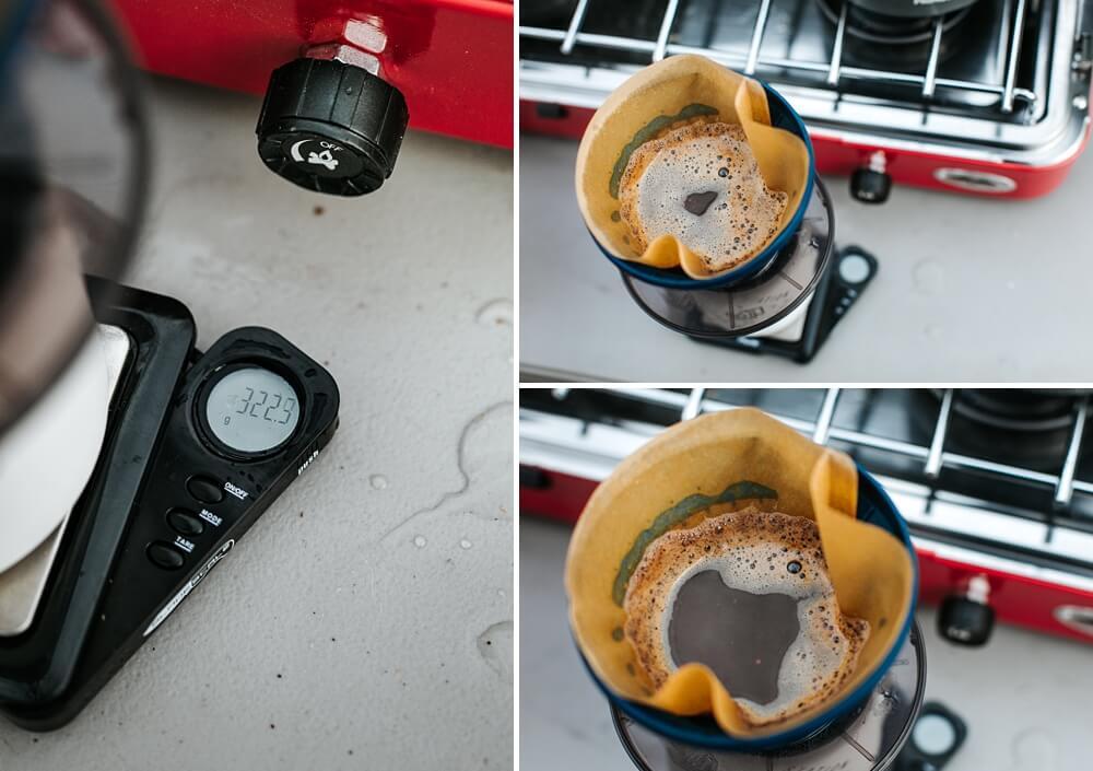 STEP 6: Brew the coffee