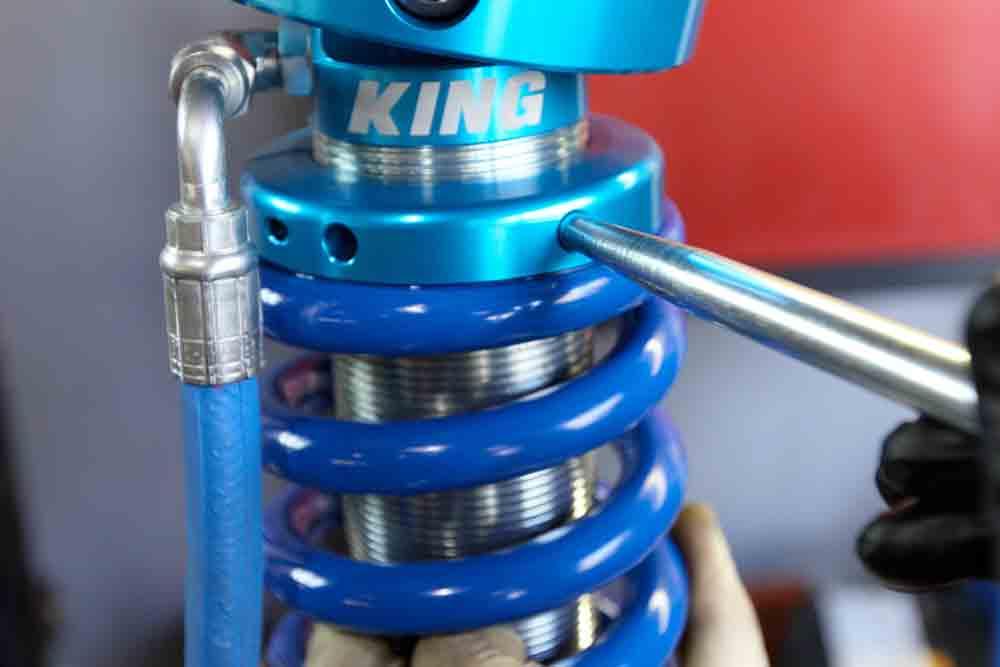 King Suspension Preload Adjustment
