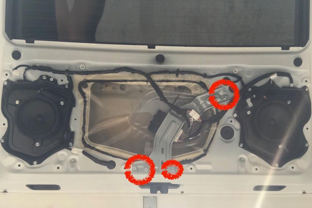 Rear Hatch Trim Removal - 5th Gen 4Runner Mods: Step 3