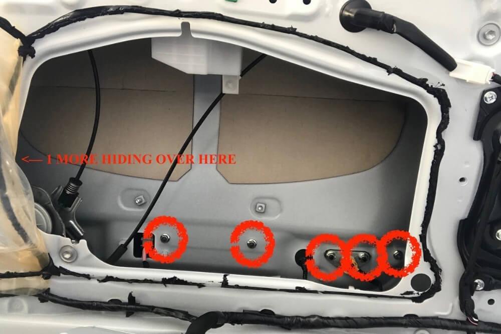 Rear Hatch Trim Removal - 5th Gen 4Runner: Step 6