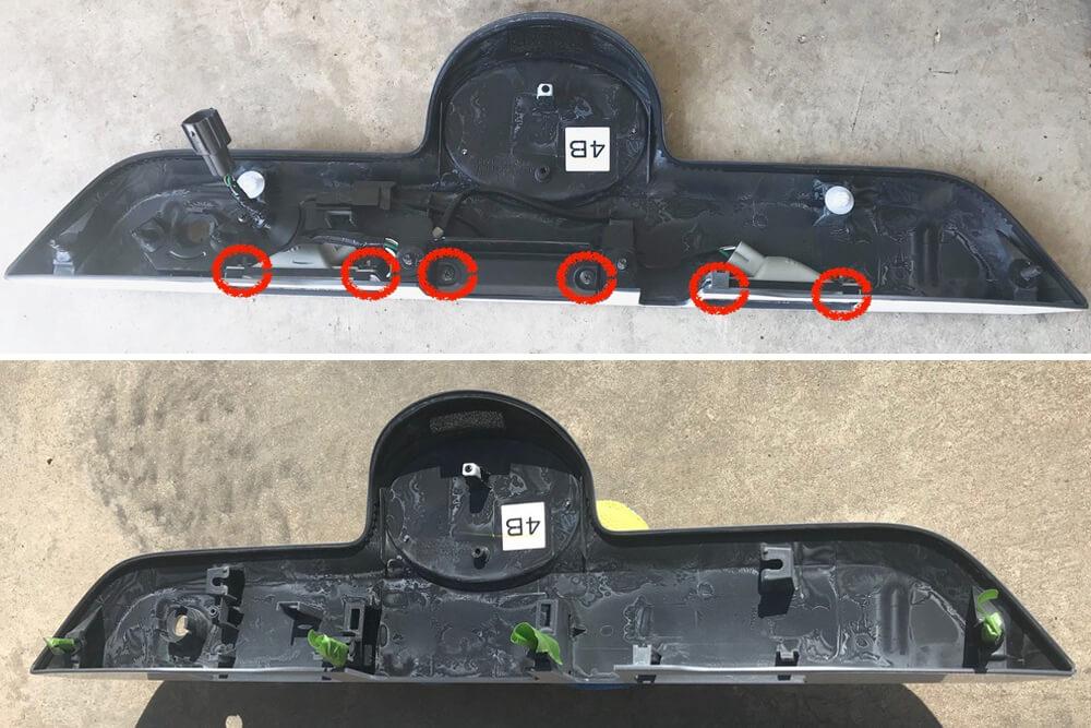Rear Hatch Trim Removal - 5th Gen 4Runner: Step 8