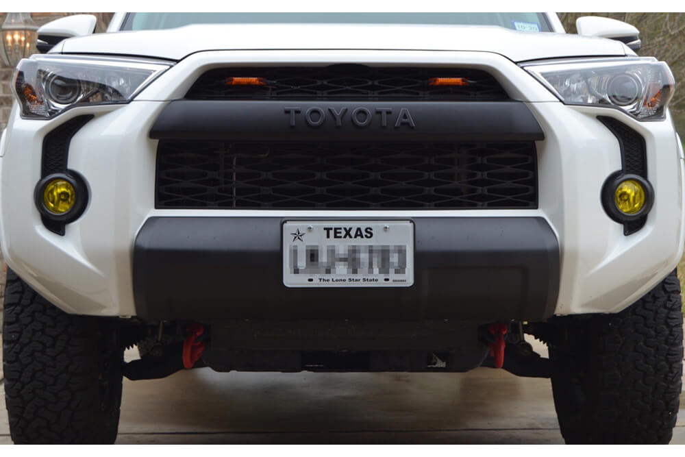 HOW TO INSTALL A TRD OR/ORP FRONT VALENCE ON A SR5P – 5TH GEN 4RUNNER