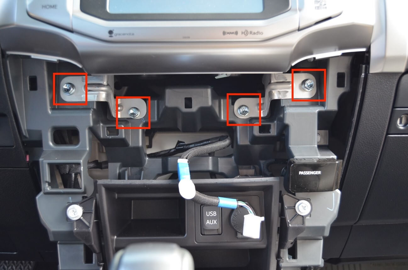 Bolts in Dash