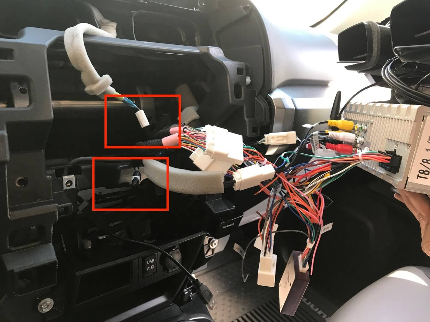 Connecting the New Dash Unit