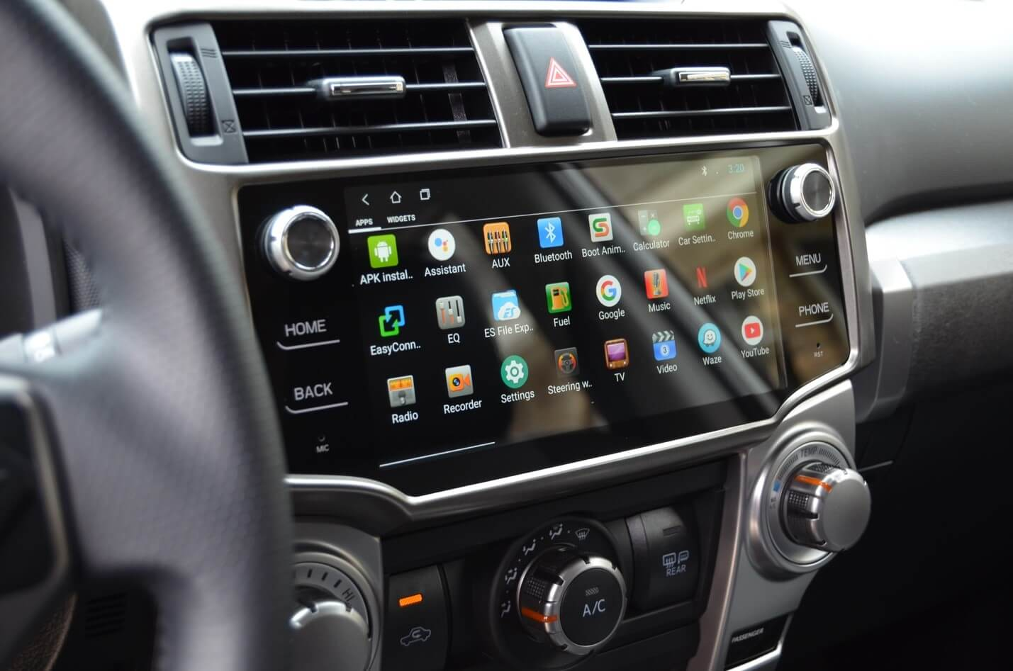 Android Head Unit on 5th Gen 4Runner