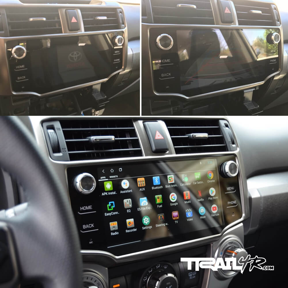 T8 Head Unit - Screen Glare