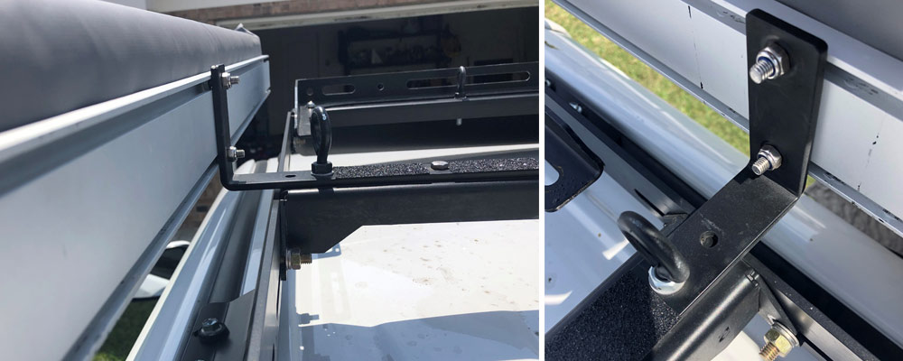Dobinsons Awning Mount on Roof Rack