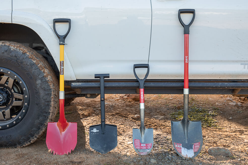 Bond Compact D-Grip Off-Road Shovel