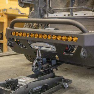 Prepare C4 Fabrication Lo Pro Bumper