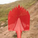 Krazy Beaver Off-Road Shovel Spiked Blade