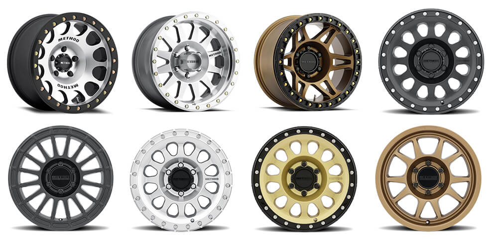 #2 Method Race Wheels - 6X139.7 Wheels