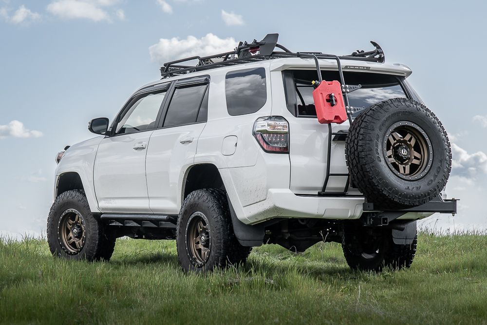 RIGd UltraSwing™ Hitch Carrier for 4th and 5th Gen 4Runner