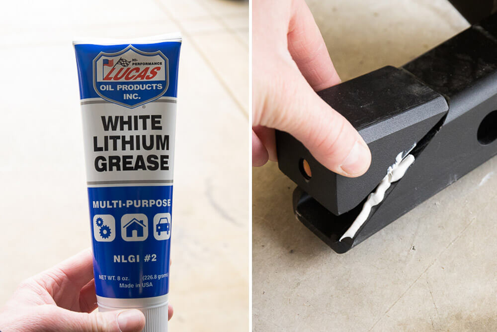Apply Grease to the UltraSwing Wedge