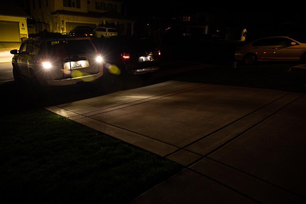 VLEDS Reverse Light Vs. 921 Bulb