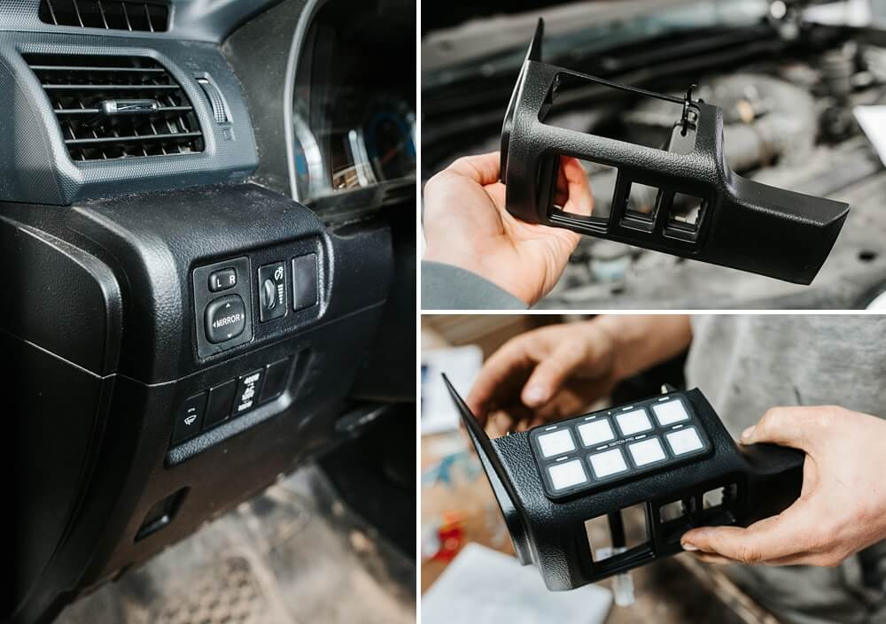 SDHQ Switch Pros Keypad Mounting System