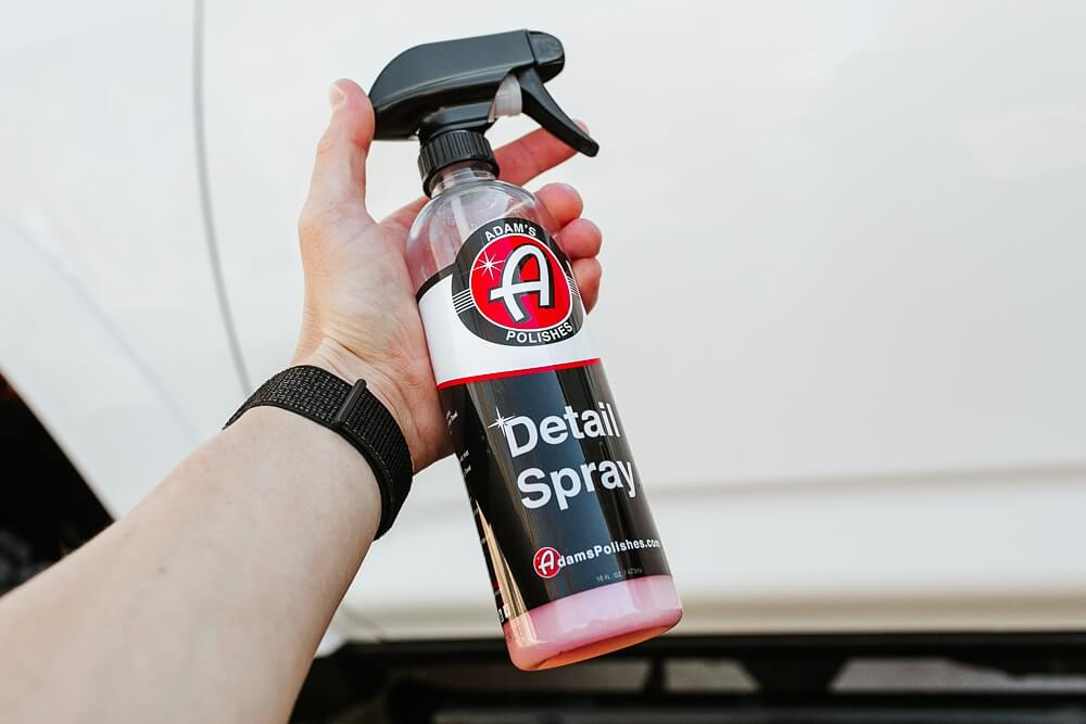 Adams Polishes Rail Dust Removal - Add Detail Spray To Clay Bar