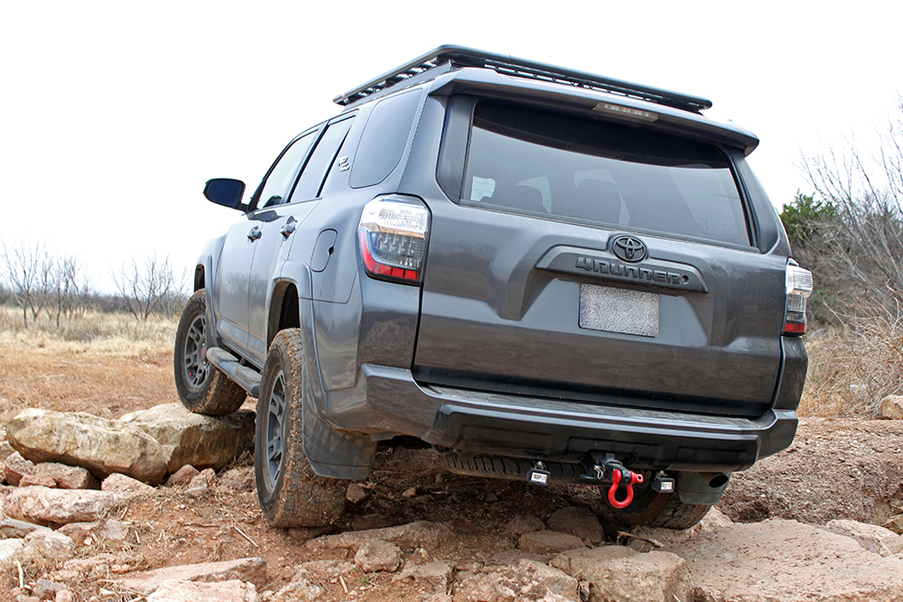 ARB Flat Fence rack for 5th Gen 4Runner