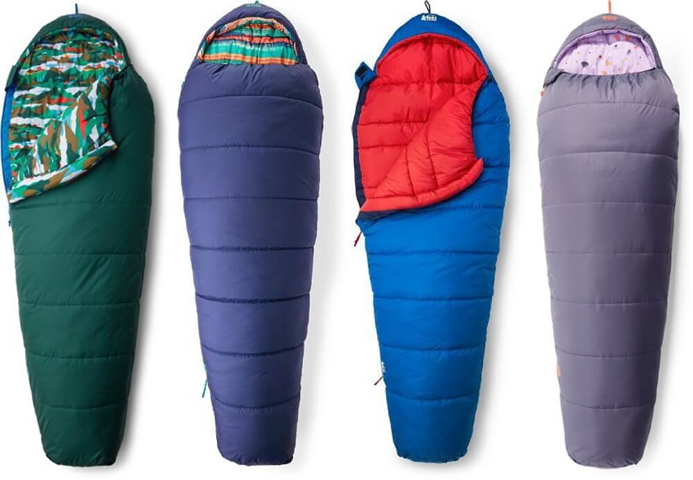 REI Kindercone Sleeping Bag - Camping Essentials With Kids Under 12