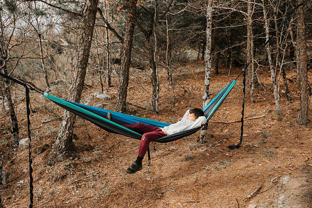 Eno Double Nest Hammock - Camping Essentials With Kids Under 12
