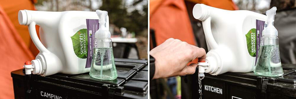 Hand Washing Station 2 Gallon Enviro Bottle - 12 Camping Essentials With Kids Under 12