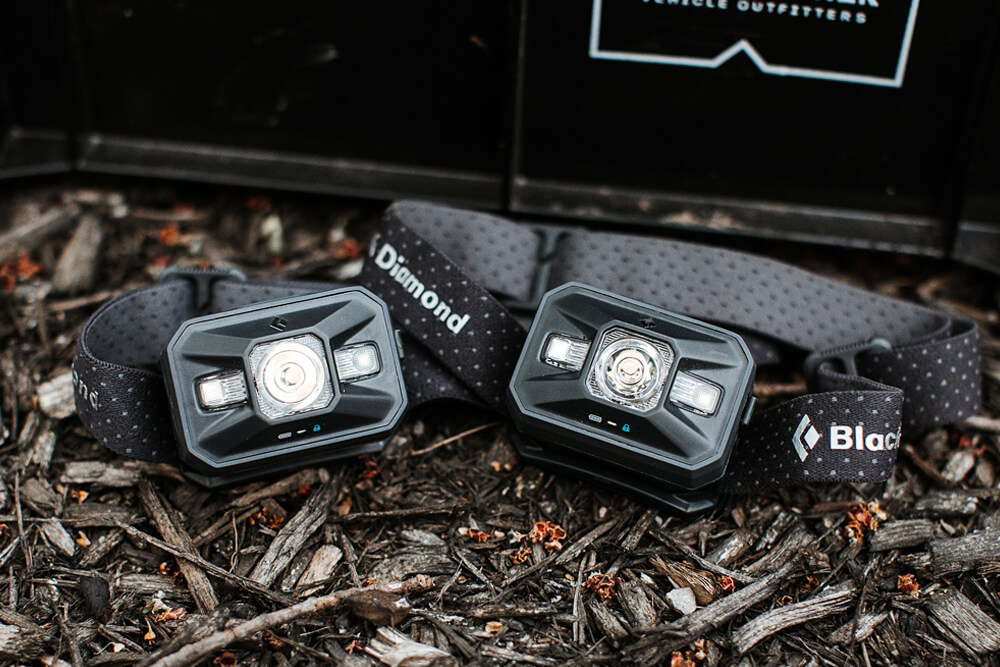 Black Diamond Storm Headlamp - Camping Essentials With Kids Under 12