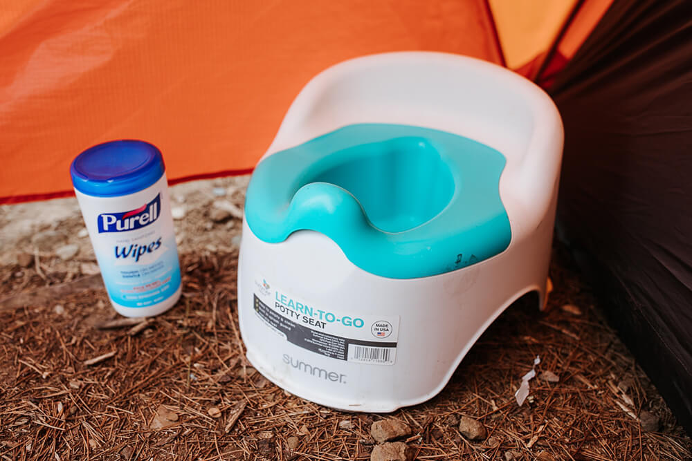 OXO Tot Potty Chair - Camping Essentials With Kids Under 12