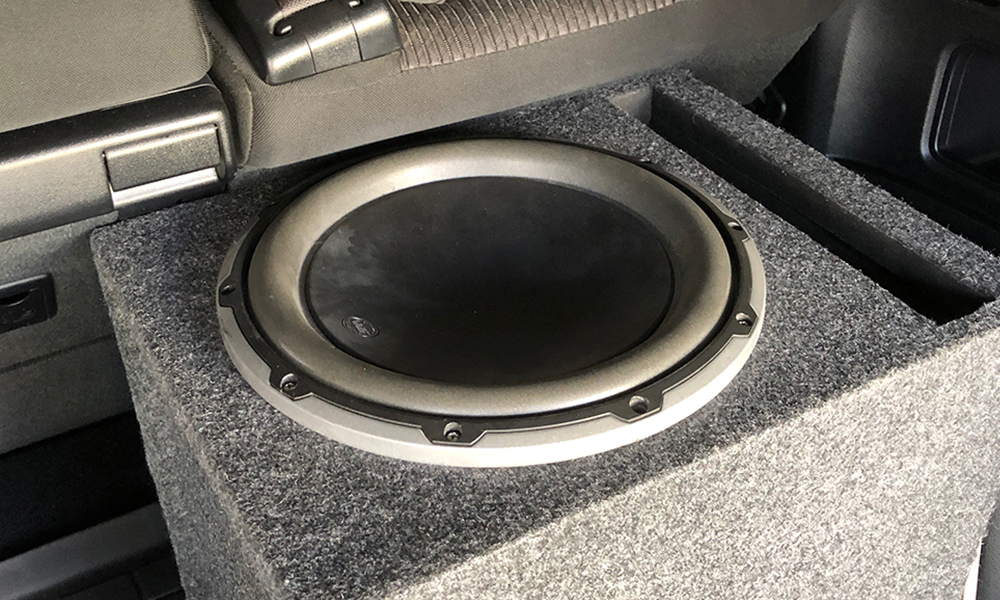 TacoTunes 4Runner Plug and Play Add a Subwoofer Audio Upgrade on