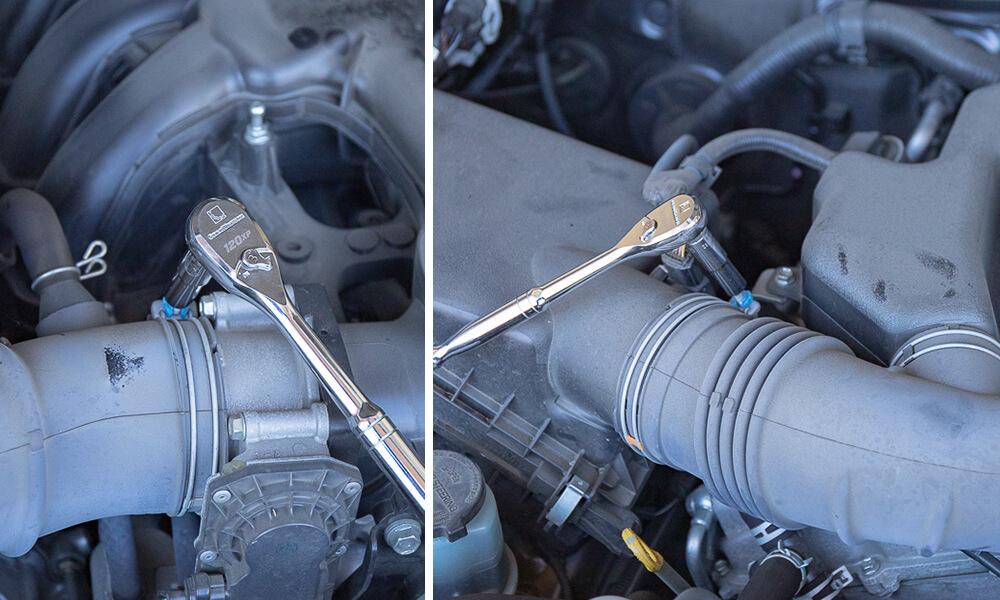 Volant Intake Install Step 1