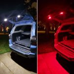 Icarus eXtreme LED Hatch Lights from ArcLightLEDs on the 5th Gen 4Runner