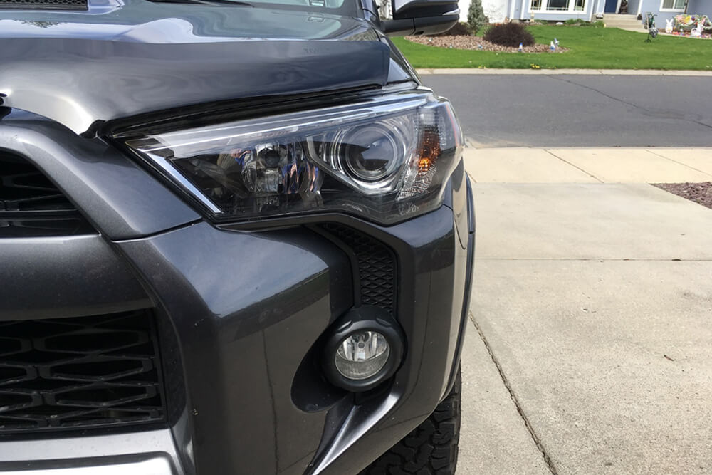 OEM Hood, Rock Chip and Bug Protector Install - 5th Gen 4Runner