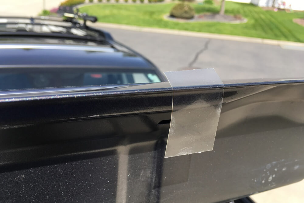 OEM Hood, Rock Chip and Bug Protector Install - Apply 3m mylar tape - 5th Gen 4Runner