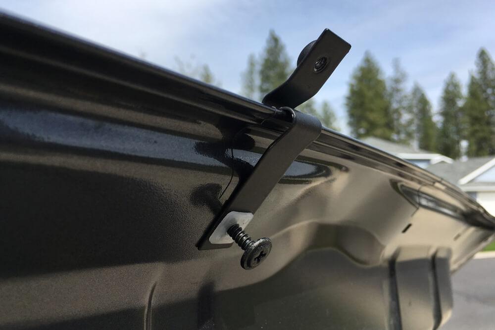 OEM Hood, Rock Chip and Bug Protector Install - Install brackets- 5th Gen 4Runner