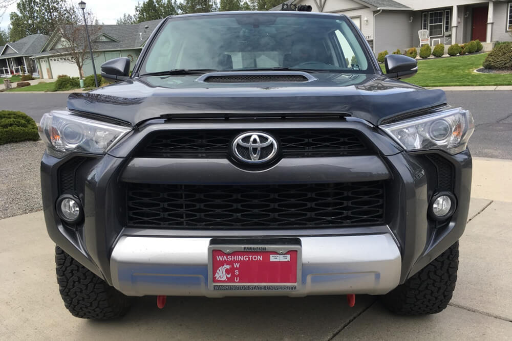 OEM Hood, Rock Chip and Bug Protector Install - Check Alignment - 5th Gen 4Runner