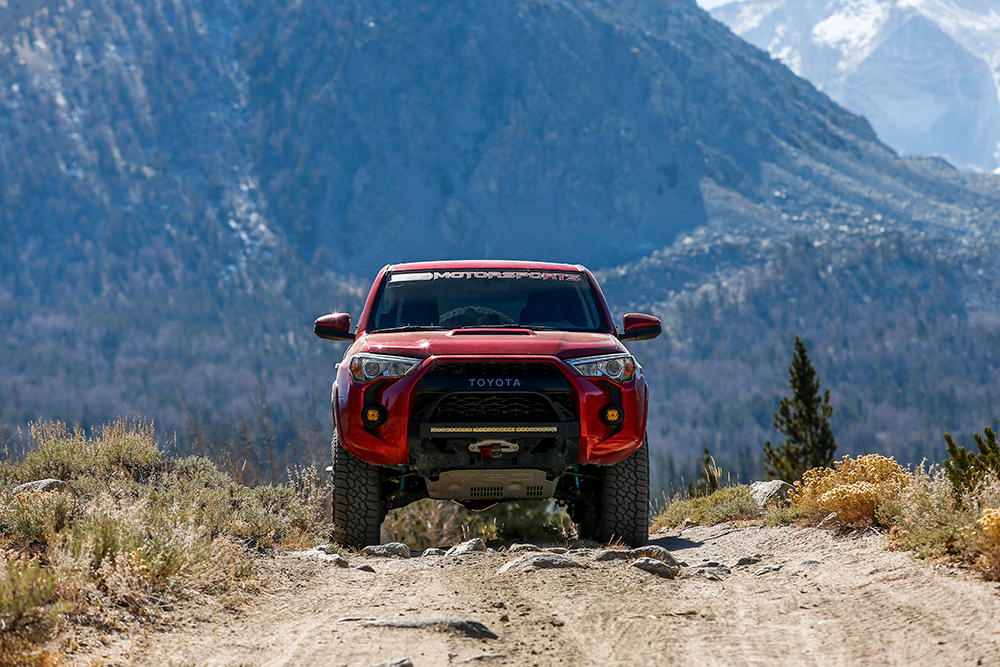 Low Profile Bumper and No Roof Rack on 4Runner