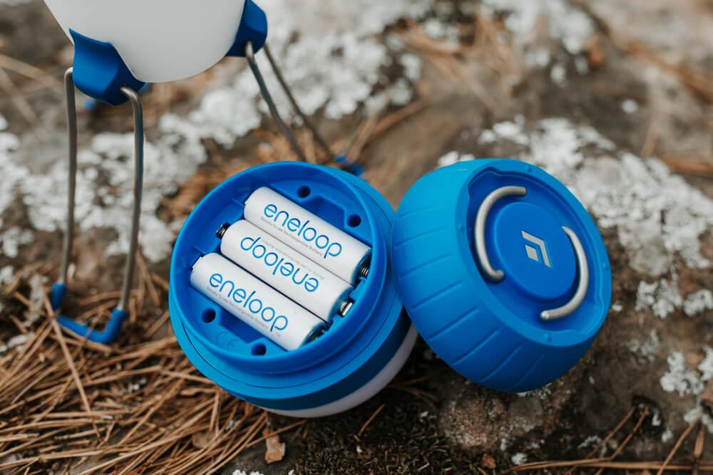 Moji Lantern's Eneloop NiMH AA Rechargeable Batteries
