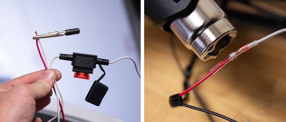 Run Inline Fuse on Wiring Harness