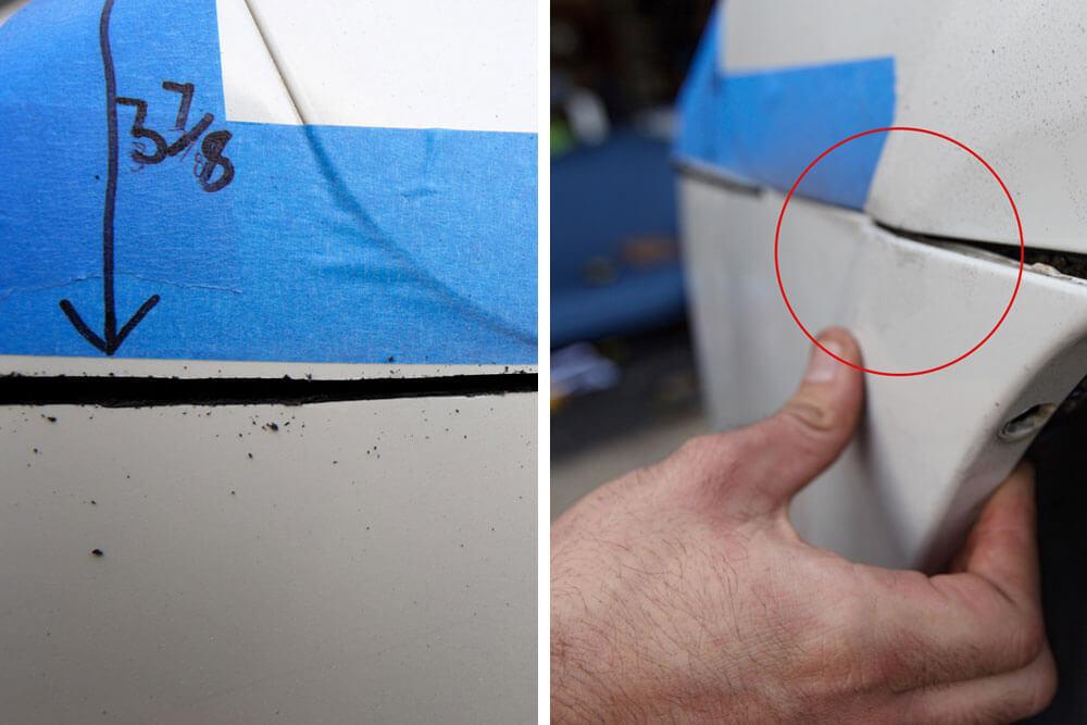 DeMello Off Road Bumper Install - Step 5. Cut Bumper & Remove Screws Holding the Cut half