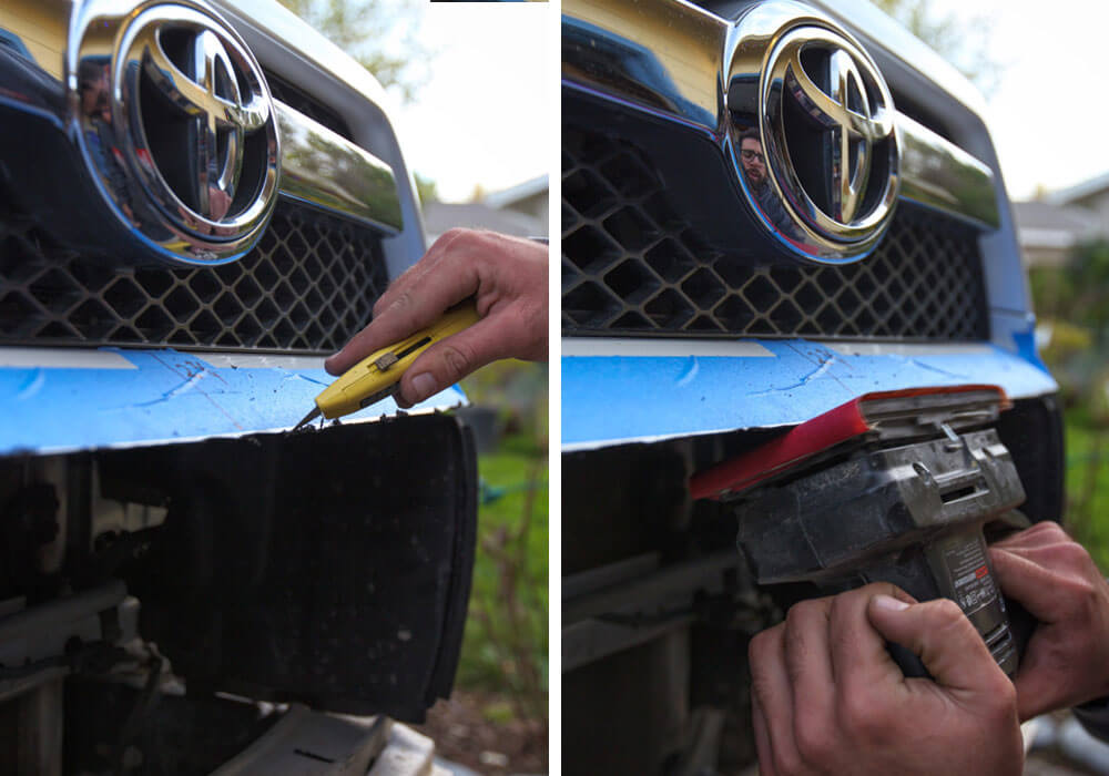 DeMello Off Road Bumper Install - Step 8. Clean Up