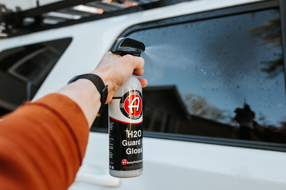 Adam's Polishes H2O Guard & Gloss - Step 3: Spray H20 Guard & Gloss