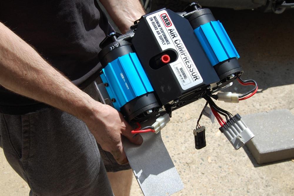 Rago Air Compressor Mount & Gauge - Install & Review: Step 1: Assemble Compressor Mount