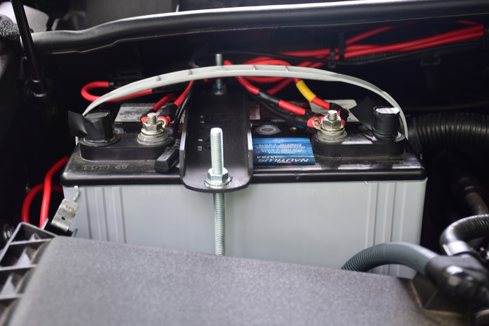 Dual Battery Install - 2nd Battery Position