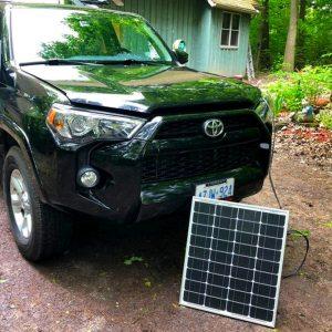 Dual Battery Install - Solar Deployed